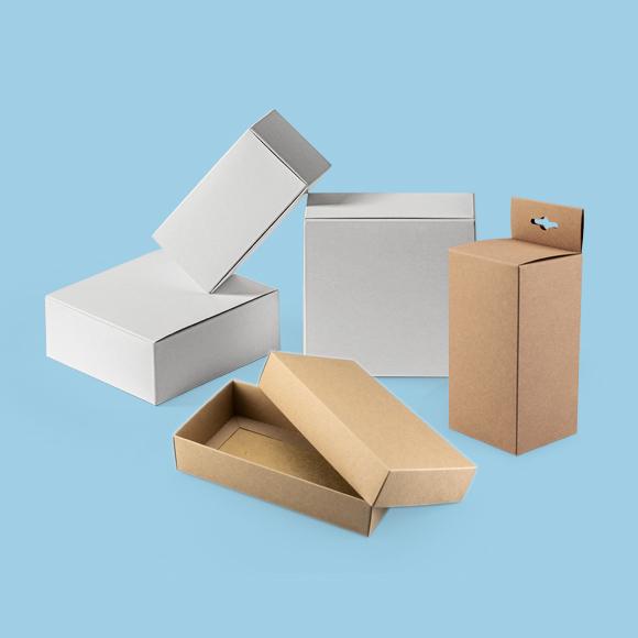 Alle Produktverpackungen
