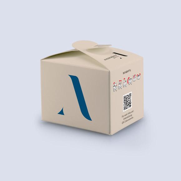 Schleifenverpackungen