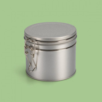 Dose Bügelverschluss - 9,5 x 8,2 cm