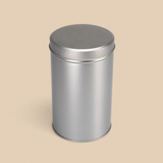 Blechdose rund mit Stülpdeckel - 10,7 x 17,8 cm