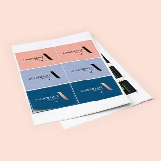 Stickerbogen online gestalten