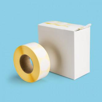 Praktischer Etikettenspender aus Faserstoff