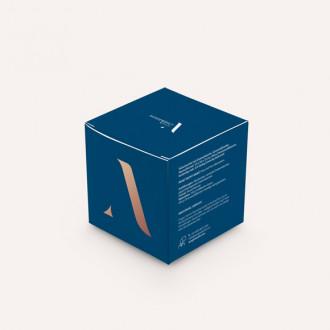 Faltschachtel mit Einstecklasche und Automatikboden im Wunschformat bedruckbar