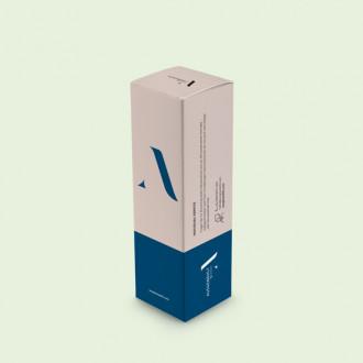 Personalisierte Faltschachtel mit Einstecklasche und Steckboden im Wunschformat