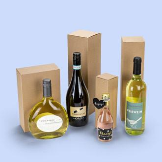 nachhaltige Flaschenverpackungen für alle Größen