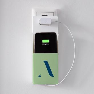 Praktische Handyladetasche individuell bedrucken