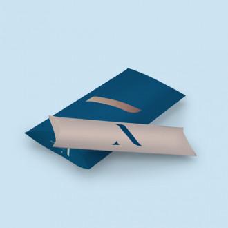 Bedruckbare Kissenschachtel aus hochwertigen Materialien