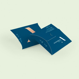 Kissenverpackung individuell bedruckt