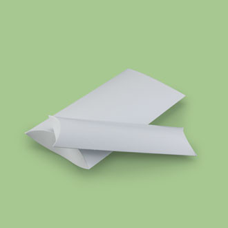 Bedruckbare Kissenschachtel aus hochwertigem Bilderdruckpapier