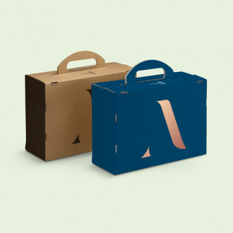 Geschenkkoffer hochwertig individuell bedrucken