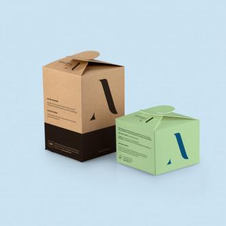 Schleifenverpackung im Wunschformat bedruckbar