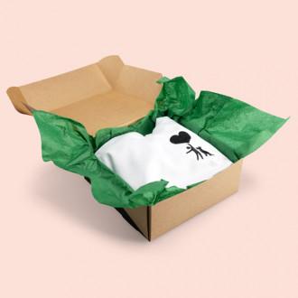 Umweltfreundliches Füllmaterial zum Verpacken von Geschenken