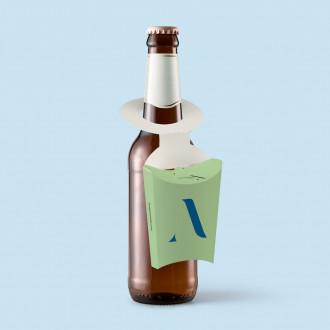 Individuell bedruckbarer Snackholder für Flaschen