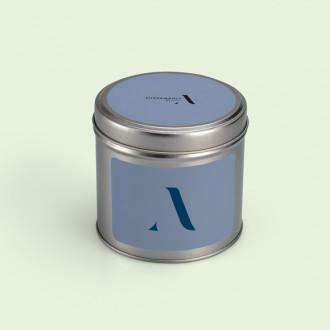 Stülpdeckeldose mit individuell bedrucktem Etikett