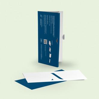 Tickethülle mit eigenem Design bedrucken