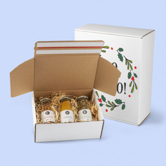Weihnachtlicher Karton drucken lassen