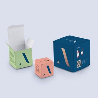Würfel Verpackung