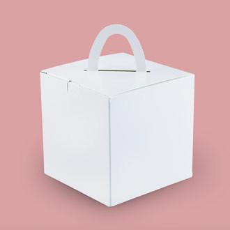 Hochwertige Würfelbox mit Henkel individuell bedrucken