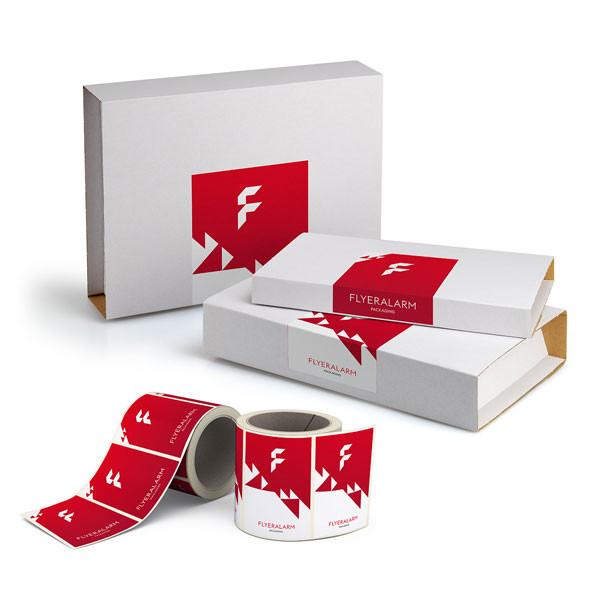 Universal-Versandverpackung inklusive Etikett