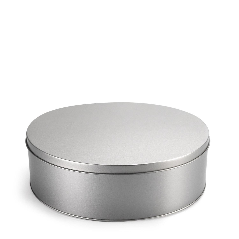 Gebäckdose rund mit Stülpdeckel - 17,9 x 7 cm