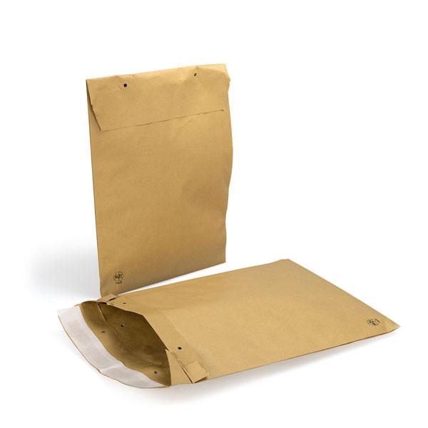 Papierpolstertasche braun - B4
