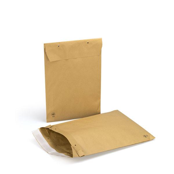 Papierpolstertasche braun - C4