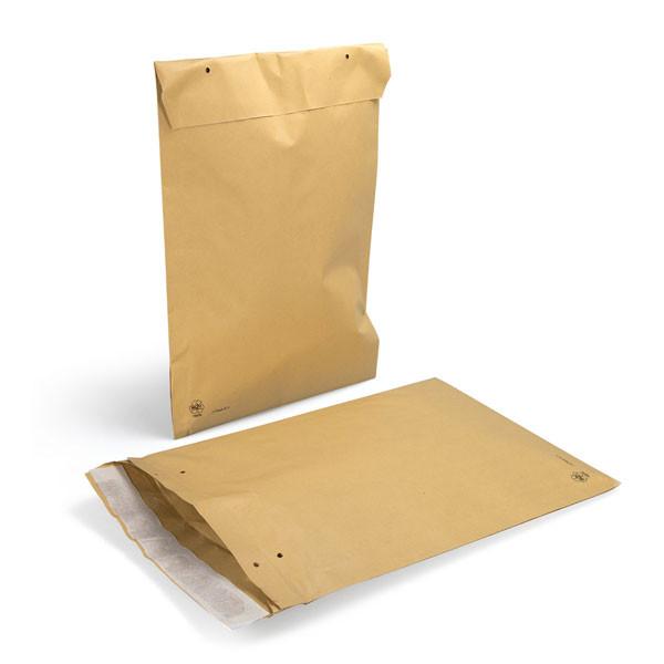 Papierpolstertasche braun - E4