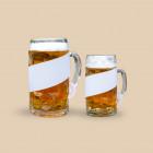 Bierkrugbanderole für Ihre individuelle Werbung