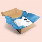 Geschenke verpacken mit Seidenpapier