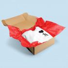 Seidenpapier als plastikfreies Füllmaterial einsetzen